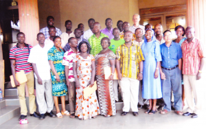 The teachers and staff at the Twatasha Youth Formation Program